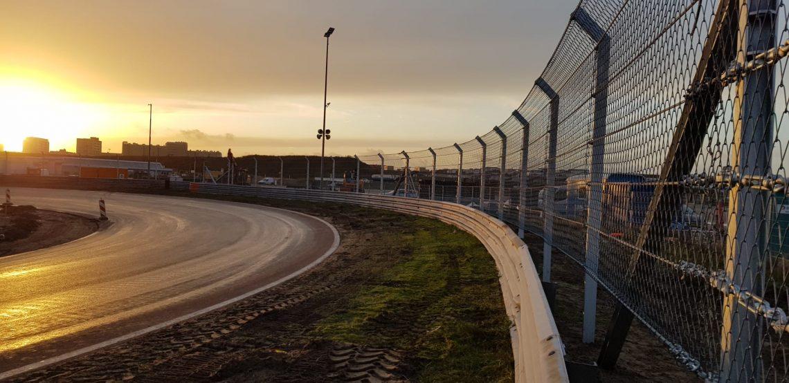 F1 Fence Posts Break Ground at Zandvoort