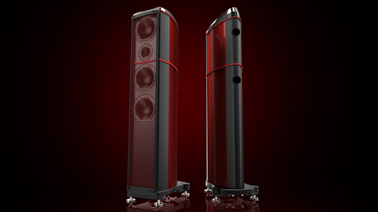 Introducing the World's First Coloured Carbon Fibre Loudspeakers