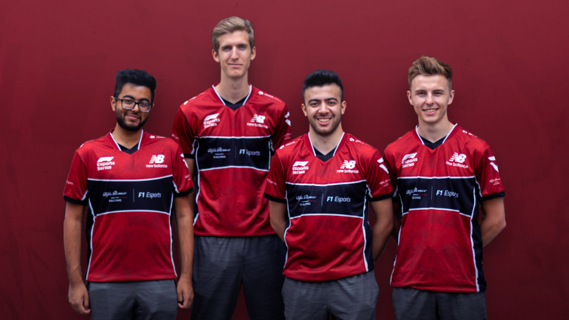 Alfa Romeo Racing Esports Signs Star Drivers for F1 Esports Series