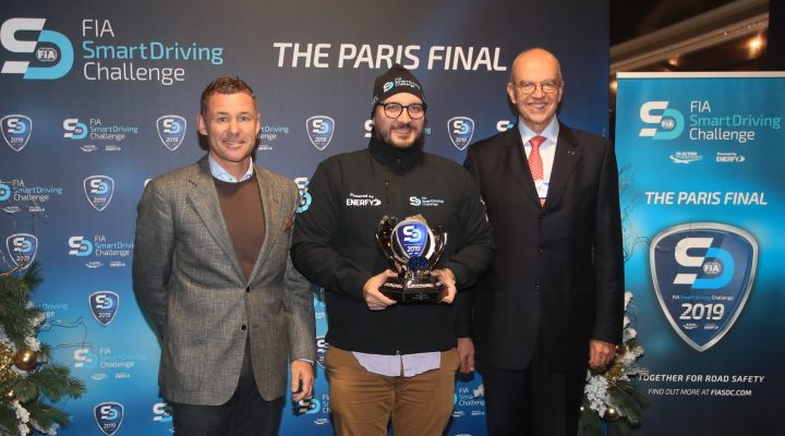 FIA CROWNS FIRST FIA SMART DRIVING CHALLENGE WINNER