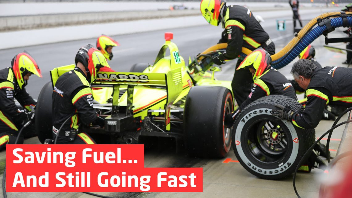 Saving Fuel… And Still Going Fast