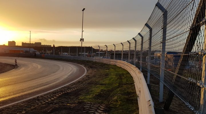F1 Fence Posts Break Ground at Zandvoort